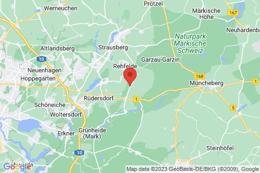 Karte Zinndorf