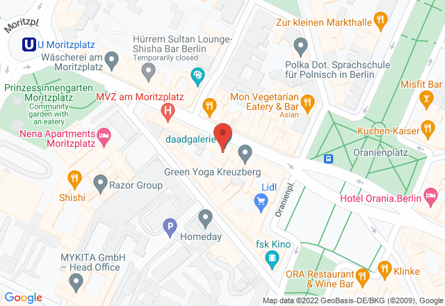 daadgalerie_studio, Oranienstraße 161, 10969 Berlin