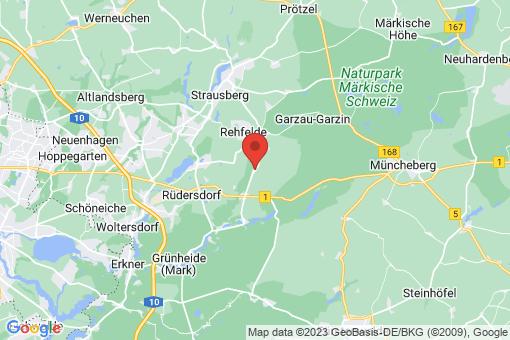 Karte Rehfelde Zinndorf