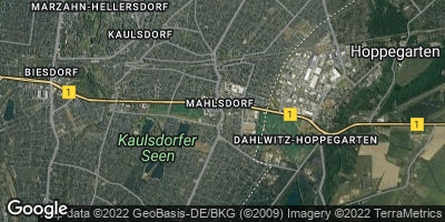 Google Map of Mahlsdorf
