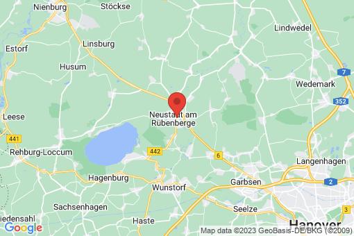 Karte Neustadt am Rübenberge