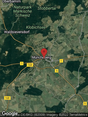 Google Map of Müncheberg