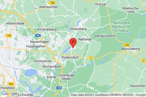 Karte Hennickendorf