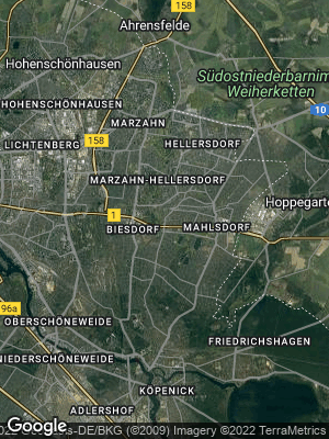 Google Map of Kaulsdorf