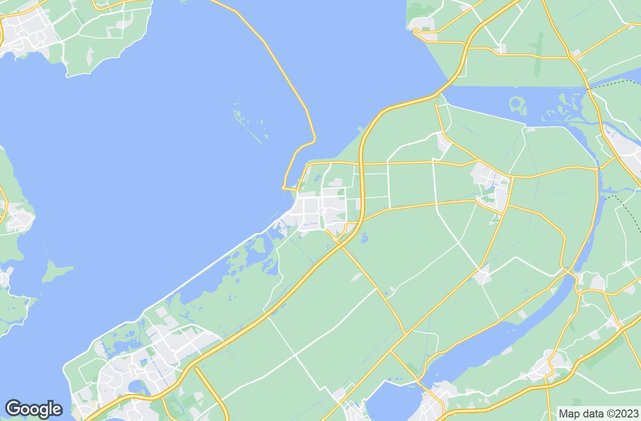 Google Map of Lelystad