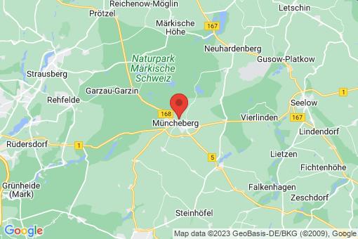 Karte Müncheberg