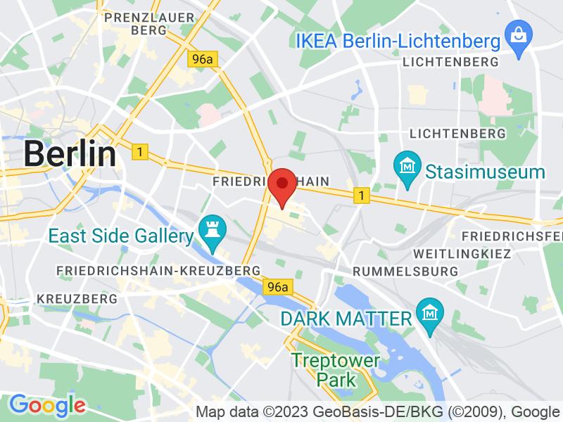 Google Maps Bild unseres Restaurants