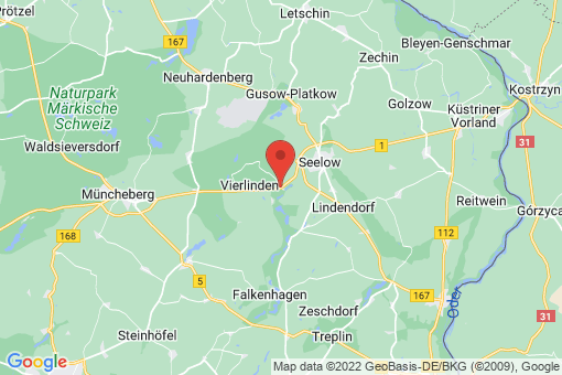 Karte Vierlinden Diedersdorf