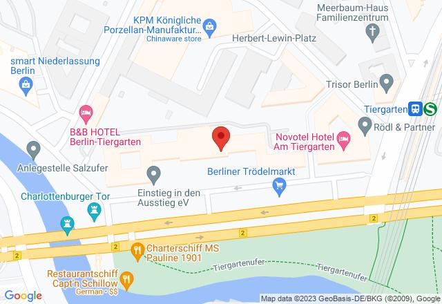 Federal Office for Building and Regional Planning, Straße des 17. Juni, 10623 Berlin