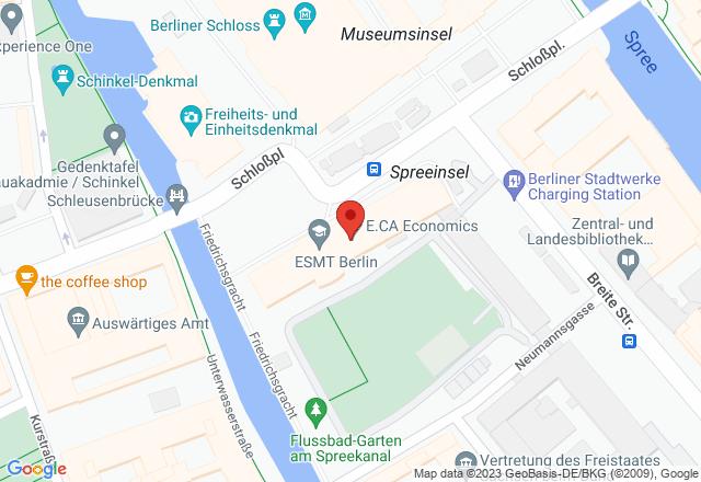 ESMT Berlin – European School of Management and Technology, Schlossplatz 1, 10178 Berlin