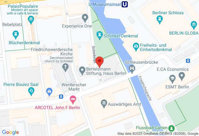 Berliner Bauakademie, Schinkelplatz, 10117 Berlin