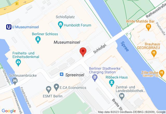 Humboldt Forum im Berliner Schloss, Baustelleneingang Süd, Schloßplatz 7, 10178 Berlin