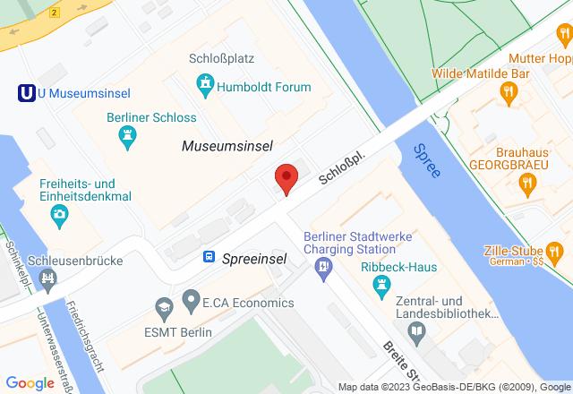 Humboldt Forum in the Berlin Palace, Construction site south entrance, Schloßplatz 7, 10178 Berlin