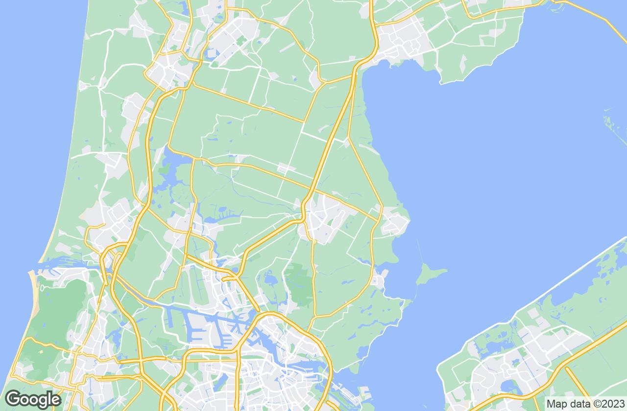 Google Map of Zuidoostbeemster