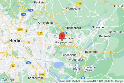 Karte Dahlwitz-Hoppegarten