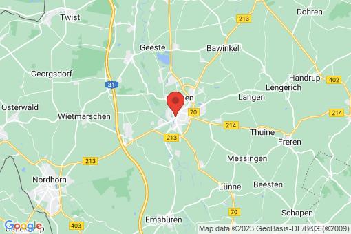 Karte Lingen