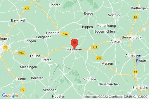 Karte Fürstenau