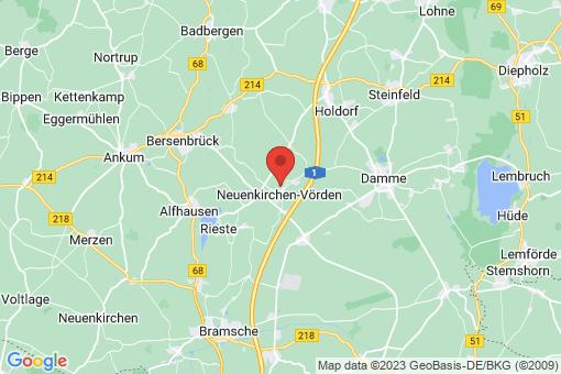 Karte Neuenkirchen-Vörden