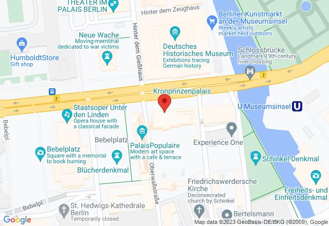 Kronprinzenpalais, Kronprinzenpalais, Unter den Linden 3, 10117 Berlin