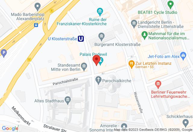 Podewil, Klosterstraße 68, 10179 Berlin