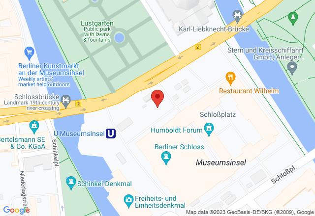 Humboldt-Box, Humboldt-Box, Schloßplatz 5, 10178 Berlin
