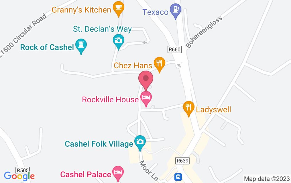 Get directions to Chez Hans