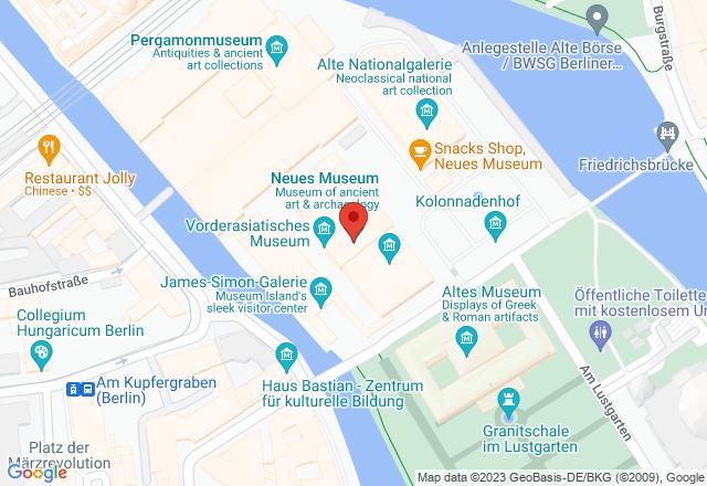 Neues Museum, Bodestraße 1-3, 10178 Berlin