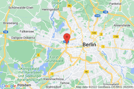 Karte Berlin-Charlottenburg