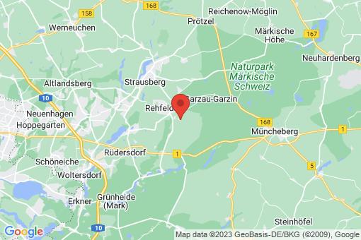 Karte Rehfelde Werder