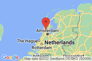 Map of North Holland