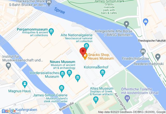 Museumsinsel Berlin, Bodestraße 1-3, 10178 Berlin