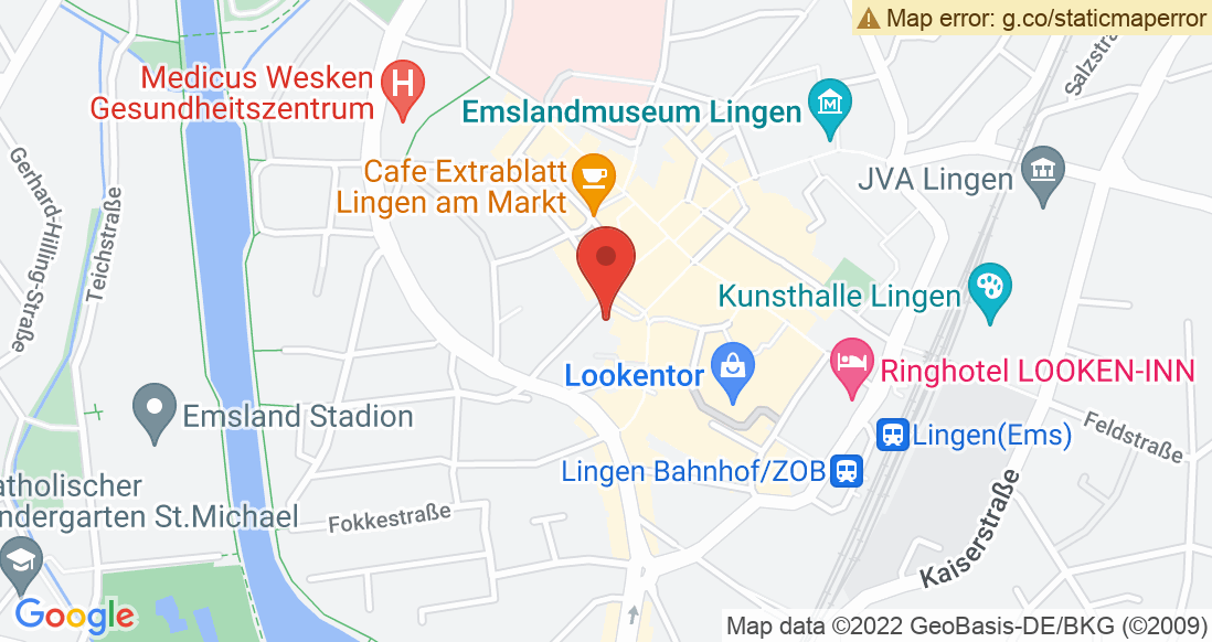 Google Map SPORT 2000 Lingen