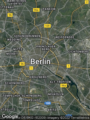 Google Map of Mitte