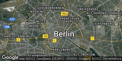Google Map of Berlin