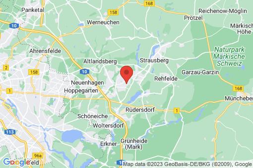 Karte Petershagen-Eggersdorf