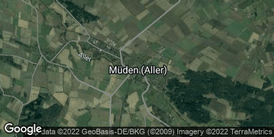 Google Map of Müden