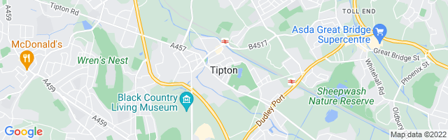 Map Of Tipton