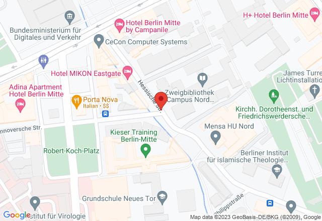 Emil-Fischer-Hörsaal, Hessische Straße 2, 10115 Berlin