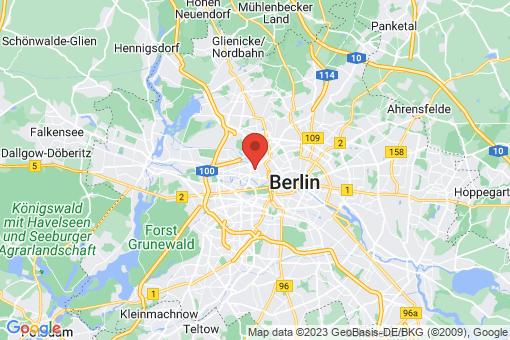 Karte Berlin-Moabit