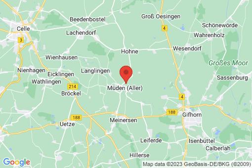 Karte Müden (Aller)
