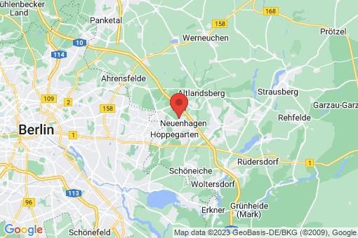 Karte Neuenhagen bei Berlin