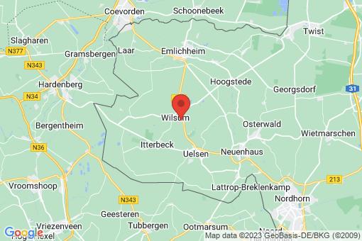 Karte Wilsum