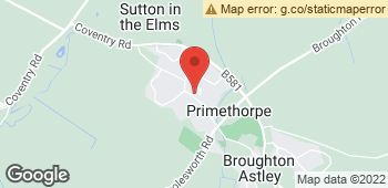 Map of Karinas Flower Studio at 81 Main Street, Broughton Astley, Leicestershire LE9 6RE