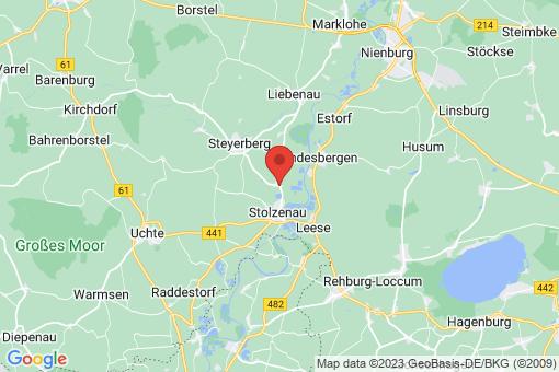 Karte Stolzenau Anemolter-Schinna, Schinna