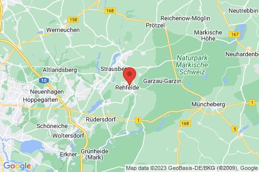 Karte Rehfelde Rehfelde