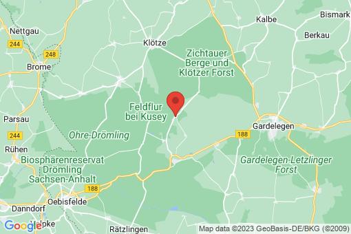 Karte Jeggau