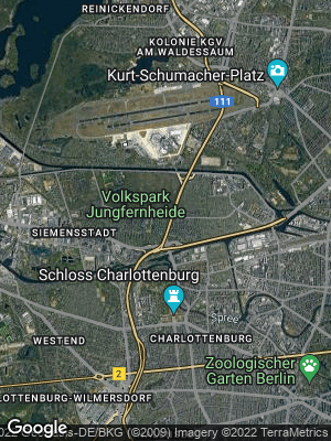 Google Map of Charlottenburg-Nord