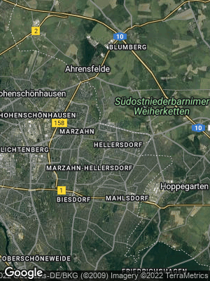 Google Map of Hellersdorf