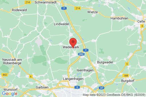 Karte Wedemark