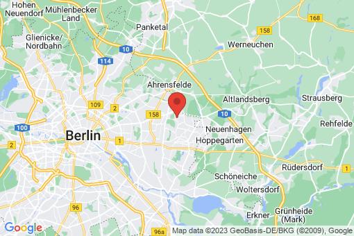 Karte Berlin-Hellersdorf